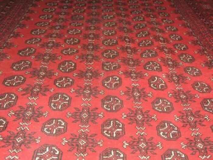 שטיח אפגני דוגמת רגל פיל