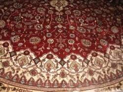 שטיח פרסי - סיב משי