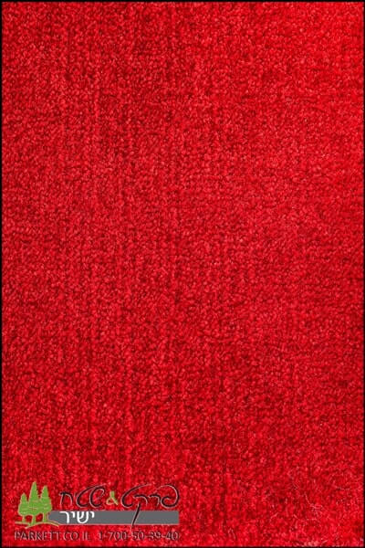 שטיחים מסיב ניילון אדום