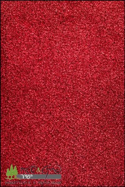 שטיחים מסיב ניילון אדום2
