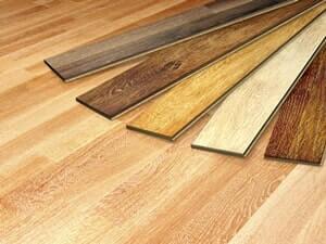פרקט פולימרי דמוי עץ
