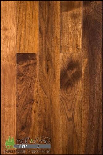התקנת פרקטים מעץ